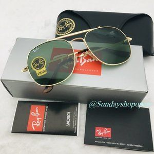 Ray-Ban Rb3561 The General Square Sunglasses 57mm